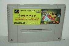 MICKEY MANIA THE TIMELESS ADVENTURES OF MICKEY MOUSE SUPER FAMICOM JAP VBC 48753
