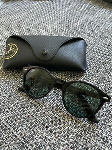 Ray-Ban Herren Sonnenbrille RB2180 schwarz fast ungetragen - mit Original Case