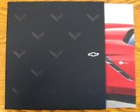 2019 Chevy Corvette Prestige Brochure Stingray ZR1 Z06 w Dlx Slipcover Sleeve!