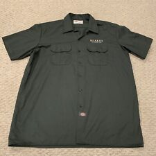 Blake's All Natural Foods Dickies Workwear Short Sleeve Buttondown Shirt Mens XL