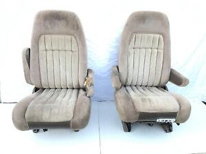 88-94 CHEVROLET Seats SILVERADO SUBURBAN TAHOE SIERRA YUKON BUCKET Seat Tan GMC