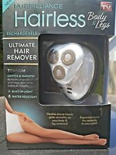 As Seen on TV Hairless Ultimate Painless Hair Remover for Body & Legs - NEW