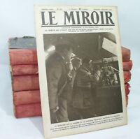 Lot de 169 livret LE MIROIR n°37 à 206 1914-1917 reliés 1ere Guerre Photos WWI