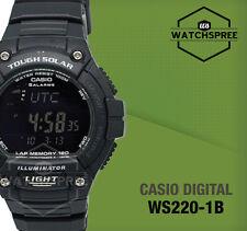 Casio Standard Digital Solar Powered Watch WS220-1B