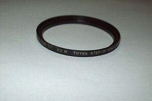 VINTAGE TIFFEN 52-62mm STEP UP FILTER RING MADE IN JAPAN -FREE SHIPPING