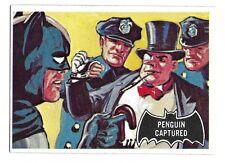 66 BATMAN TOPPS PENGUIN CAPTURED BLACK BAT 1966 NO 24 NRMINT+ 5037
