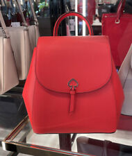 🌸NWT KATE SPADE ADEL MEDIUM FLAP BACKPACK TOTE BAG LEATHER handbag satchel