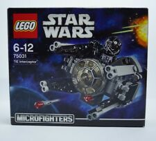 Lego Set 75031 Star Wars Microfighters TIE Interceptor & TIE Fighter Pilot - NEW