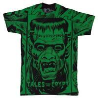 Tales Crypt FRANKENSTEIN Classic Horror T-Shirt Goth Size XL Kreepsville 666