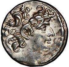 SELEUCID Philip I Philadelphus 95/4-76/5 BC AR tetradrachm NGC Choice XF Brushed