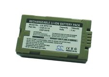 7.4 V Batteria per Panasonic NV-DS99, PV-DV400K, AG-DVX100BE, NV-EX3, PV-DV800K, N
