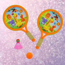 Kunststoff Badminton Tennisschläger Bälle Set Eltern-Kind Sport Spiel Spielzeug