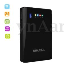 "3in1 USB3.0 2.5"" Wireless Enclosure HDD Hard Drive Case + Wifi Router+Power Bank"