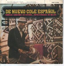 NAT KING COLE EP 1962 Aquí se habla en amor +3 ( In Spanish )