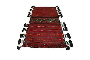 434-Nomadic Saddle Bag, Tribal Bag, Bike Bag, Anatolian Kilim, Vintage Kilim Bag