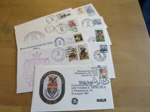 US Navy cachet and cover collection of 9 lot 19 GREAT VALUE, FREE SHIPPING !!!