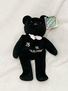 Salvino's Bammers, Black White #25 Mark McGwire Baseball Bear Beanbag Plush