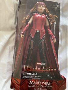 WandaVision Scarlet Witch Special Edition Doll  Figure