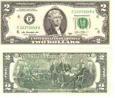 USA Cr Unc Two 2 Dollar Bill Atlanta 2013 OBAMA