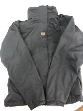 Helly Hansen crew hooded midlayer jacket Women's L Navy Full Zip