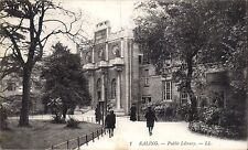 Ealing. Public Library # 1 by LL / Levy. Black & White.