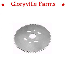 """New! Universal Steel Plate Sprocket 60 Tooth 7-1/4"""" Od 1-3/8"""" Id Chain 35 (9484)"""