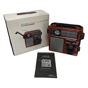 Hand-Crank ETON FR300 Multi-Purpose AM/FM/TV-VHF Radio NOAA Weather Emergency