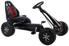 Volare Kinder Go Kart Rennwagen groß mit Luftreifen Kart Kettcar Go-Kart