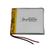 3.7V 1900 mAh Polymer Li battery lipo For ipod GPS DVD PSP Mp4 Tablet PC 584455