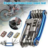 11in 1Bike Mountain Bike Bicycle Tool MTB  Multi Function Wrench Repair TOOL