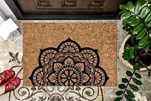 MANDALA Doormat BOHO Coir Doormat Sacred Space Doormat Bohemian Cute Doormat