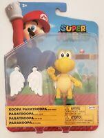Jakks Nintendo Super Mario 2021 KOOPA PARATROPPA Figure w Wings NEW FREE SHIP