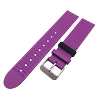 Wrist Band Strap Belt + Clasp For Withings Activite Pop/Steel Watch Purple