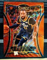 2019-20 PANINI SELECT TMALL MIKE CONLEY PREMIER LEVEL RED WAVE