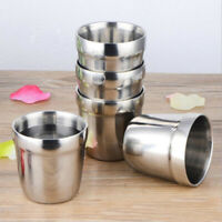 Stainless Steel Mug Cup Double Layer Coffee Tea Water Beer Cup Insulation Cup