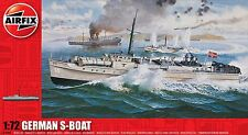 Airfix A10280 1/72 WWIl German S-Boat (High Speed Torpedo Boat)
