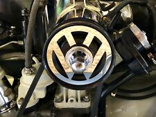 Volkswagen Beetle Kombi VW logo engine pulley badge