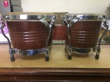 """FMD Bongo Drum, made of Rose Wood complete, """"Not stripped"""""""