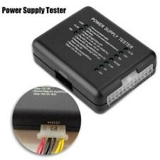 ATX Power Supply PSU Tester with 20/24 Pin SATA & Molex HDD For Pc I6T2