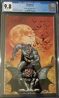 DCeased #1, CGC 9.8 Planet Awesome Batman Virgin Color Variant, (2019)