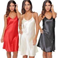 Satin Mini charmeuse Slip / Sleeping Wear Nightgown Lingerie