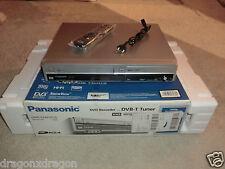 Panasonic dmr-ez49v VHS-grabador & DVD-grabador, en OVP, plata, 2j. garantía