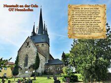 Neustadt an der Orla OT Neunhofen Kirche St.Simon und Judas Thüringen 144