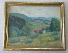 Original Oil on Canvas by William F. Waltemath (1876-1958) Listed Artist
