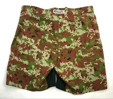CrossFit Mens 2XL Fitness Gym Shorts, Digital Camo - MMA Fight Workout Training