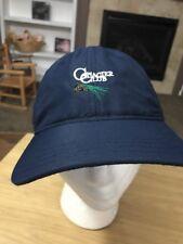 Glacier Club Golf Resort Blue Golf Baseball Cap Hat