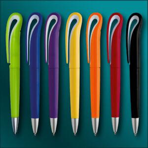 Kugelschreiber Swan mit Ihrer Werbung / Druck / Logo Druck 4-farbig Fotodruck