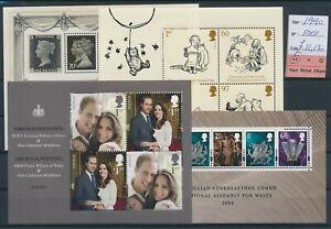 LN42561 Great Britain 1990 cartoons royalty & Wales sheets MNH fv 11,12 �
