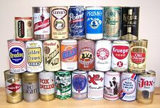 **Lot of 24 mostly Domestic BEER CAN Collection