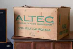 Vintage Altec Lansing 9477B 9477-B Amplifier Peerless Xfers *New, Boxed*